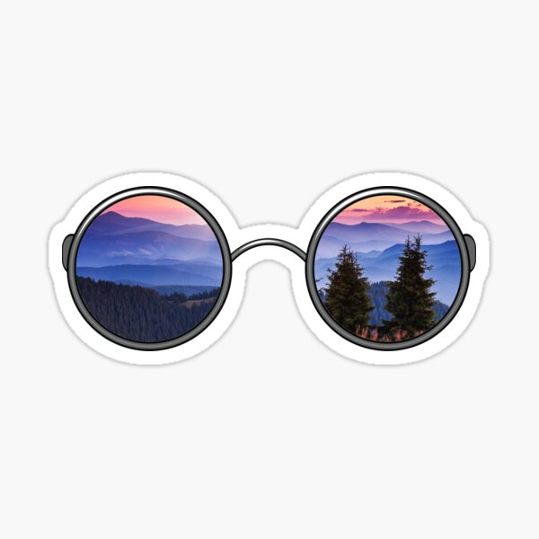 Tree Sunglasses Sticker
