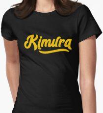BJJ Kimura BJJ Hug Brazilian Jiu-Jitsu MMA Grappling Women's Fitted T-Shirt