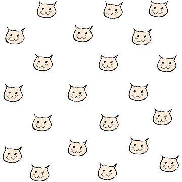 Crayon Cat by HikoDesigns
