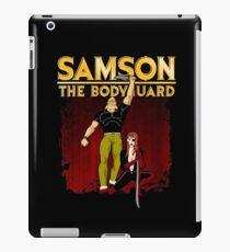Samson The Bodyguard iPad Case/Skin
