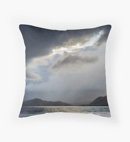 "Stormy Weather, ""Rift In The Sky"" Throw Pillow"