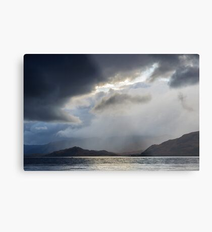 "Stormy Weather, ""Rift In The Sky"" Metal Print"