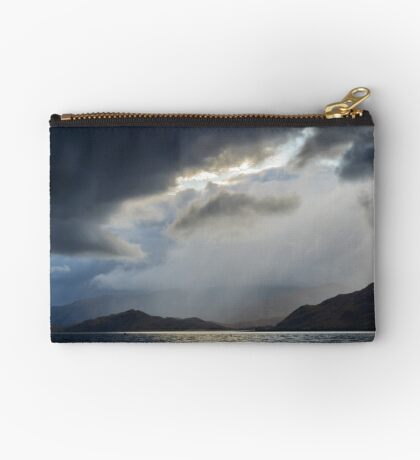 """Stormy Weather, """"Rift In The Sky"""" Zipper Pouch"""