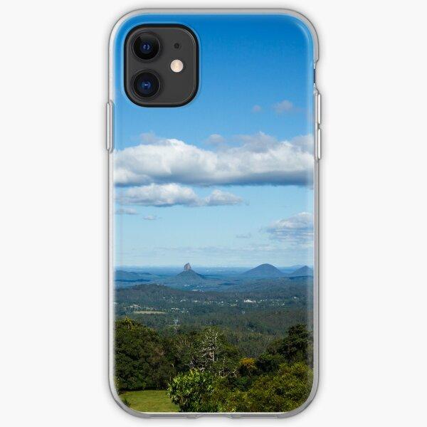 Glasshouse Mountains. QLD iPhone Soft Case