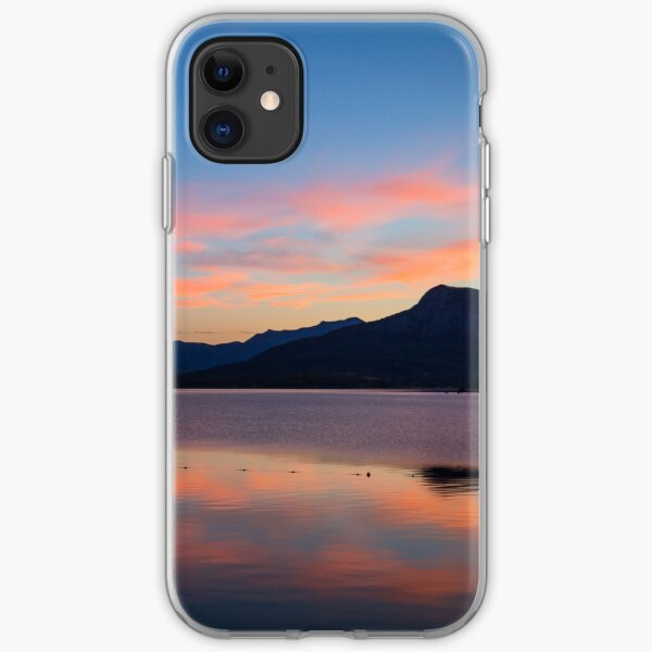 Moogerah Sunset, QLD iPhone Soft Case