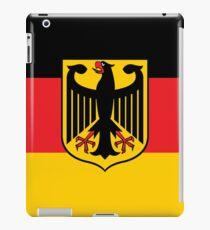 Germany flag iPad Case/Skin