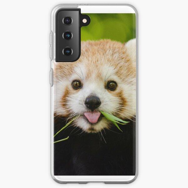Cute Cuddly Red Panda Samsung Galaxy Soft Case