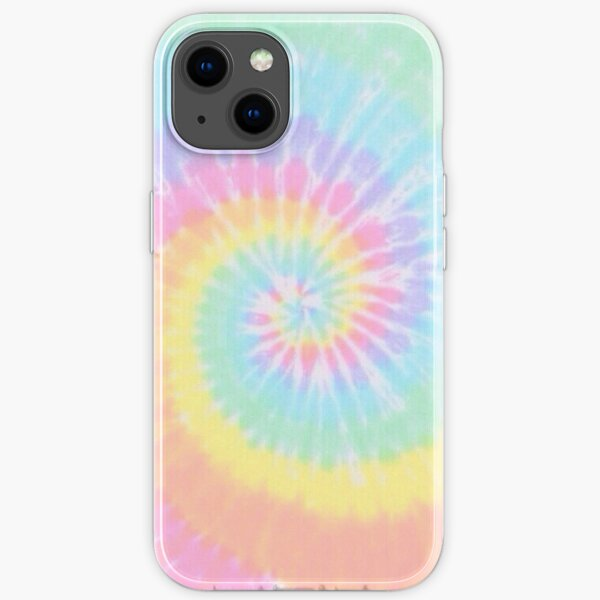 Rainbow tie dye iPhone Soft Case