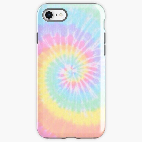 Rainbow tie dye iPhone Tough Case