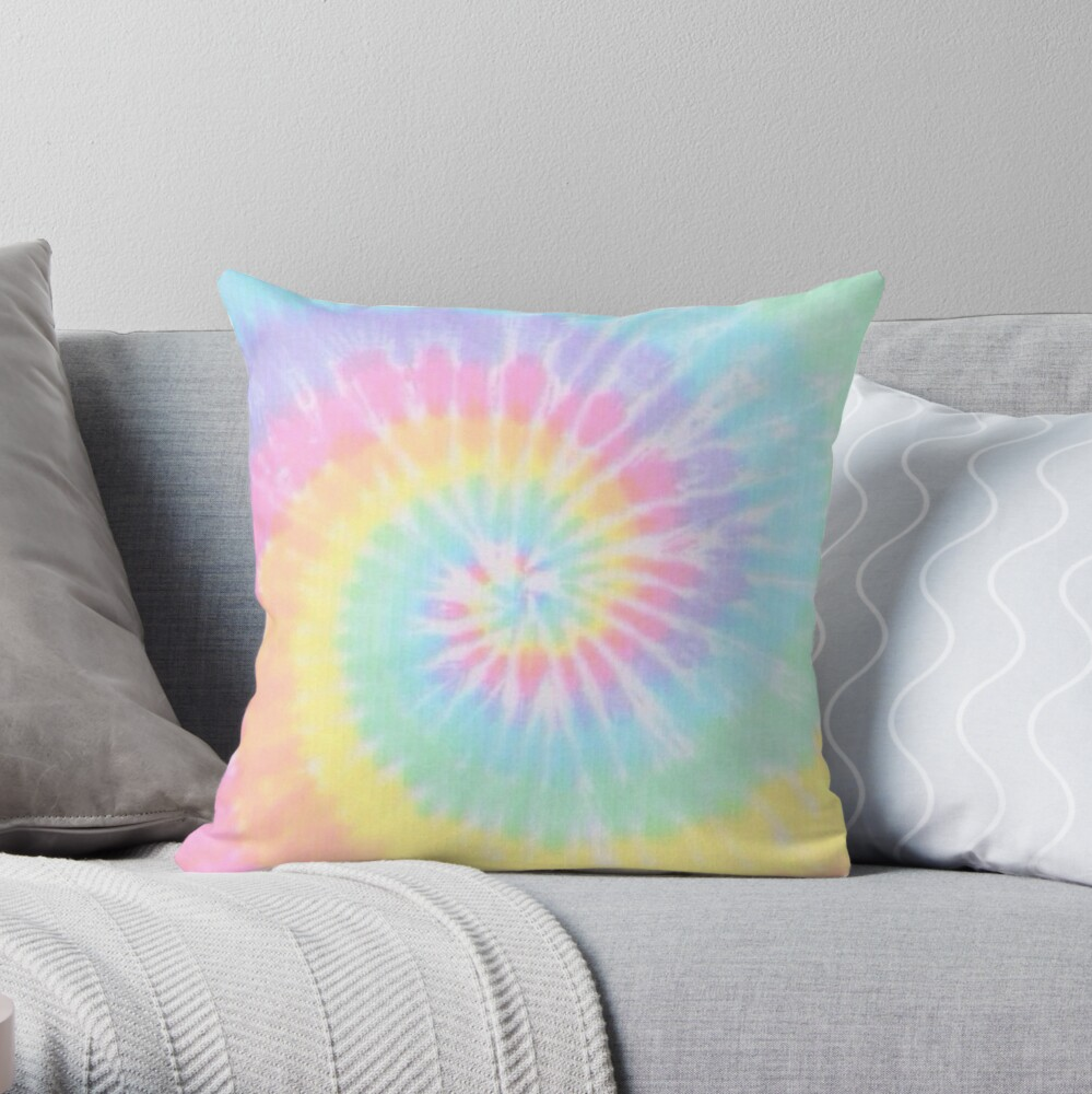 Tie Dye Rainbow Cojín