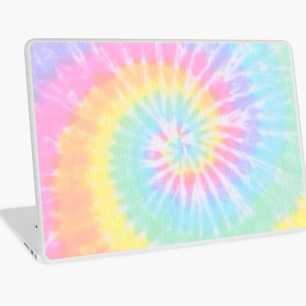 Rainbow tie dye Laptop Skin
