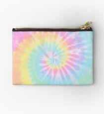 Rainbow tie dye Studio Pouch