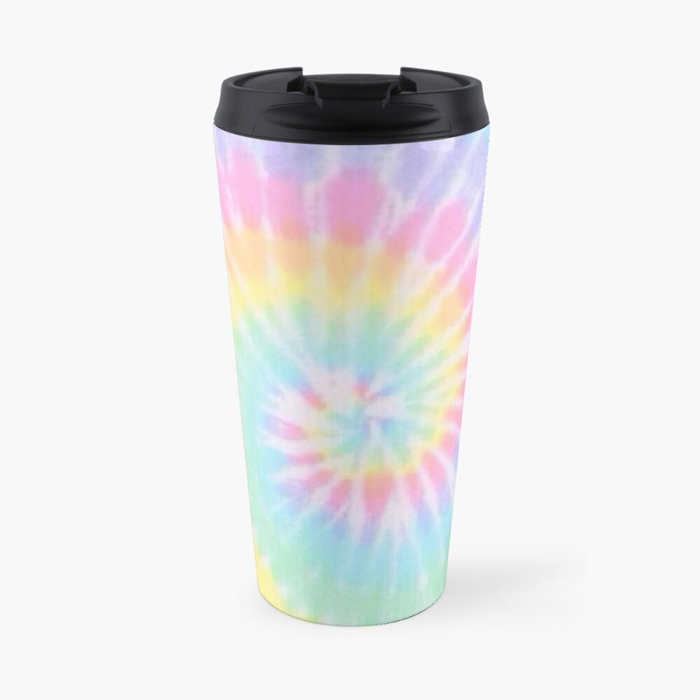 Rainbow tie dye Travel Mug