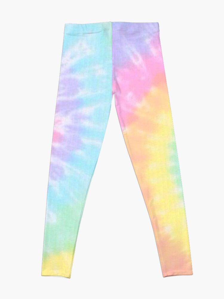 Alternate view of Rainbow tie dye Leggings