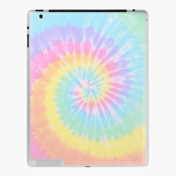 Rainbow tie dye iPad Skin
