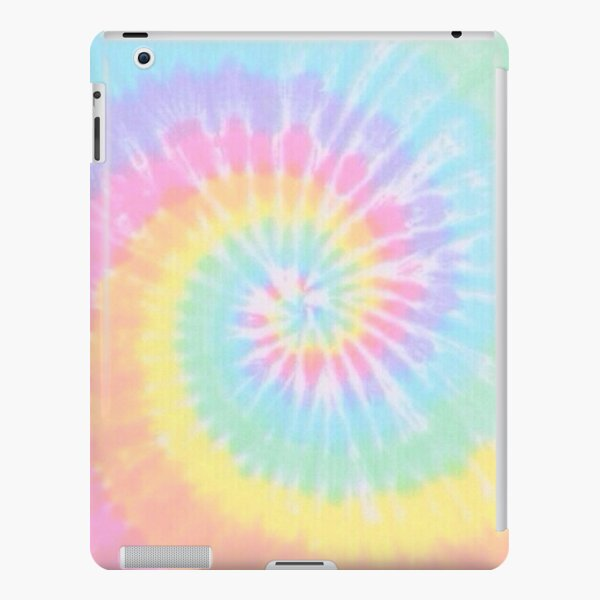 Rainbow tie dye iPad Snap Case