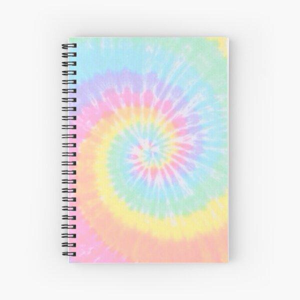 Rainbow tie dye Spiral Notebook