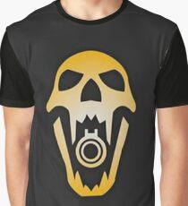 Blackbeard Skull Graphic T-Shirt