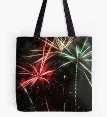 Mulitcolor Fireworks Tote Bag