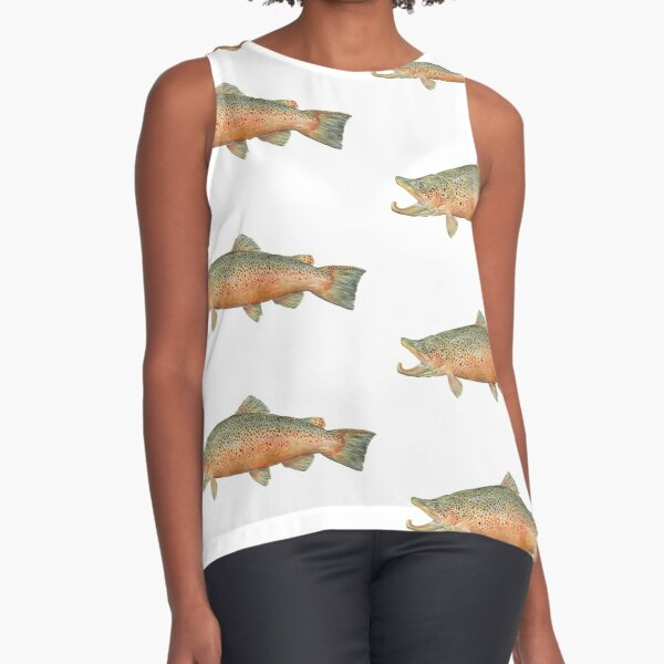 Brown Trout Sleeveless Top