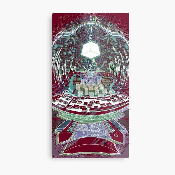 Neuromancer: Wintermute Metal Print