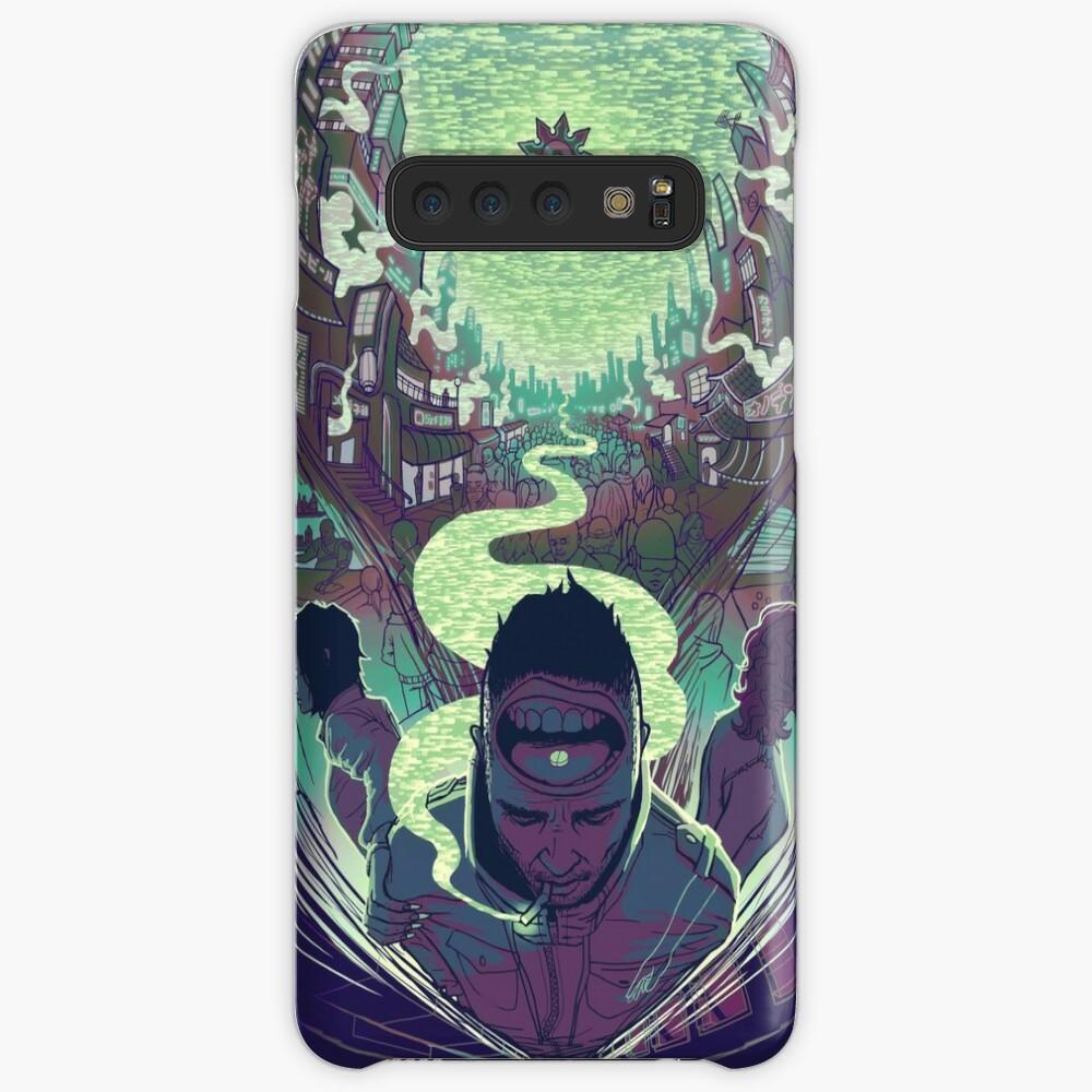 Neuromancer: Case Cases & Skins for Samsung Galaxy
