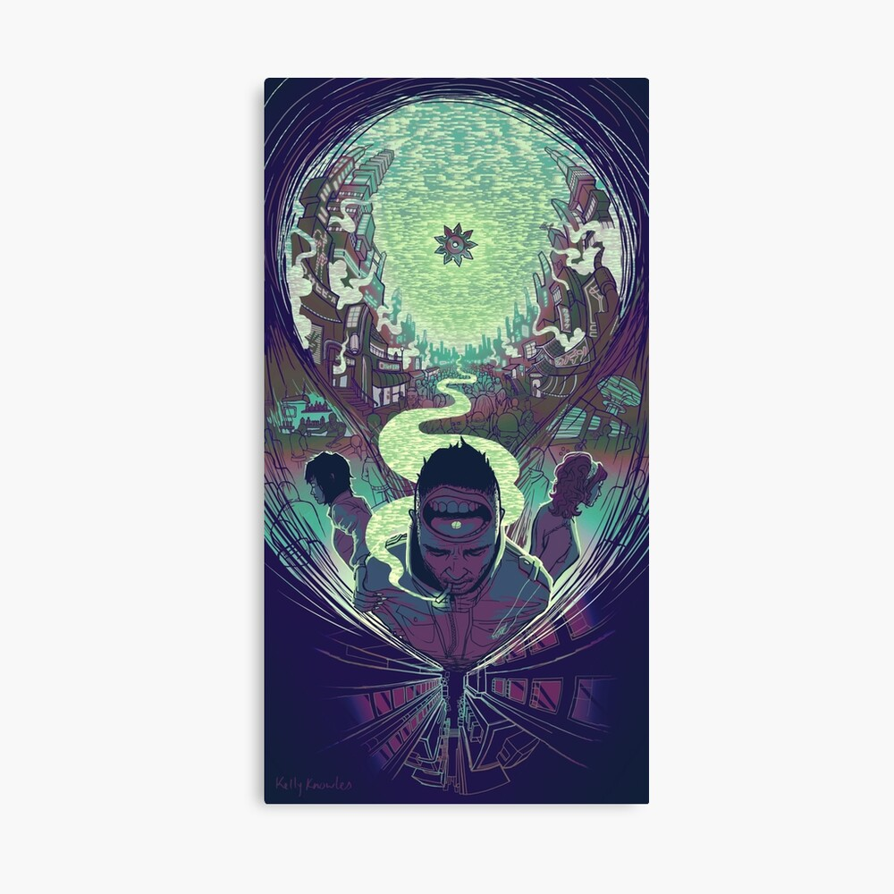 Neuromancer: Case Canvas Print