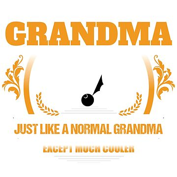 Ping Pong Grandma Christmas Gift or Birthday Present by epicshirts