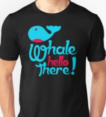 UNIQUE IF589 Whale Hello There New Product Unisex T-Shirt