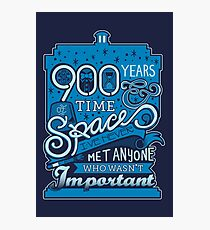 900 Years of Time & Space Photographic Print