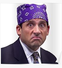 Michael Scott - Prison Mike Poster