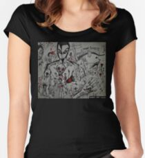Inside My Mind Women's Fitted Scoop T-Shirt