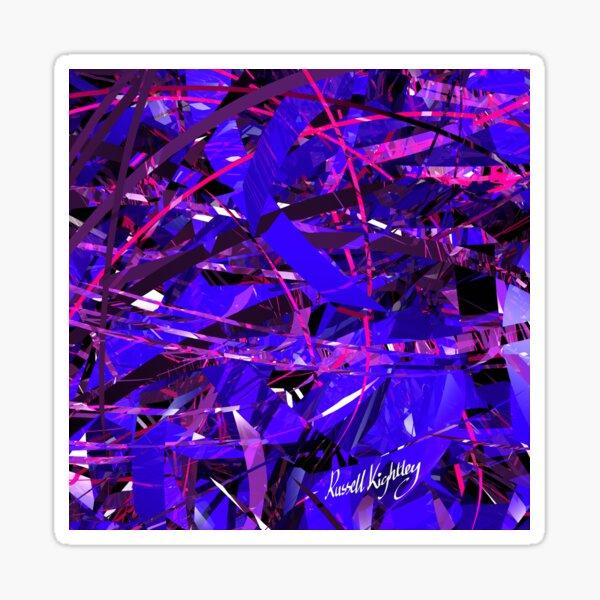 Purple Study Sticker