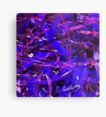 Purple Study Metal Print