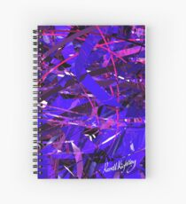 Purple Study Spiral Notebook