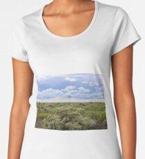 Blown by the wind Women's Premium T-Shirt