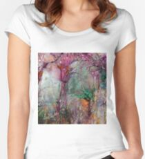 Qualia's Meadow R Women's Fitted Scoop T-Shirt