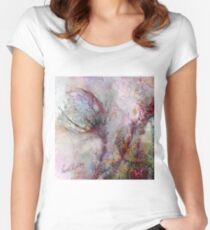 Qualia's Meadow L Women's Fitted Scoop T-Shirt