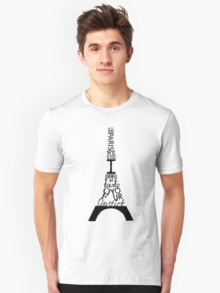 We're So Paris Unisex T-Shirt Front