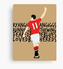 Ryan Giggs Ryan Giggs Canvas Print