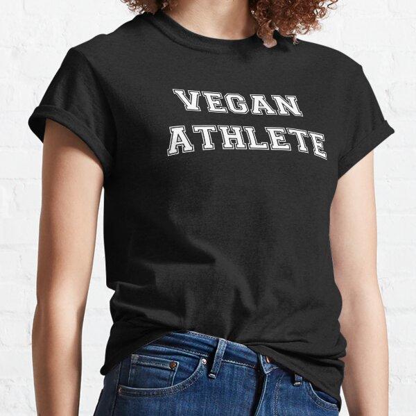 Vegan Athlete (white) Classic T-Shirt