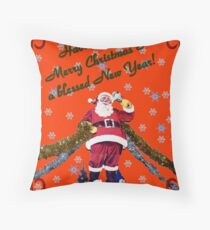 Have A Very Merry Christmas & A Blessed New Year! Throw Pillow