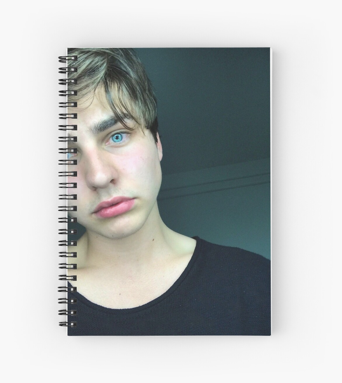 """""""Colby Brock"""" Spiral Notebooks By Laceylovesyou19"""
