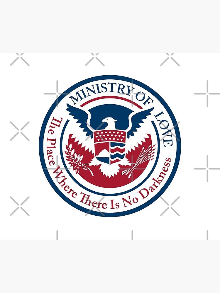 ministry of love, official seal by kislev