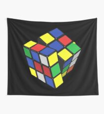 The cube Wall Tapestry