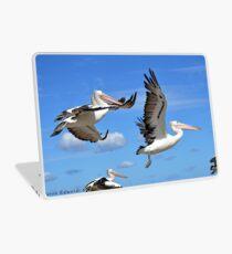 Pelicans Flying  Laptop Skin