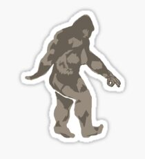 Bigfoot circle game 2 Sticker