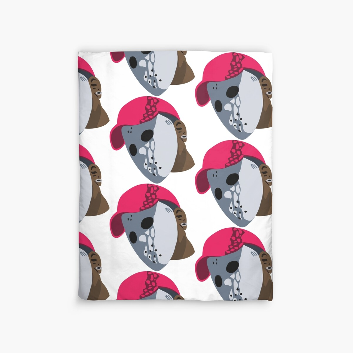 Quot Ski Mask The Slump God Quot Duvet Covers By Jadenlc Redbubble