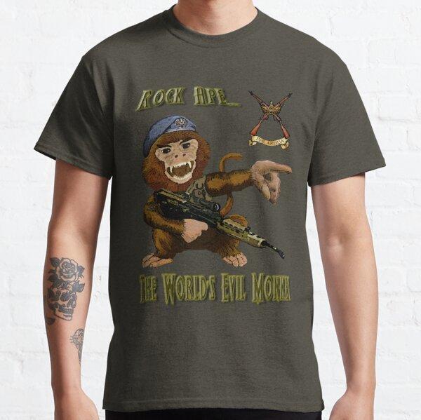 Rock Ape = Evil Monkey Camiseta clásica