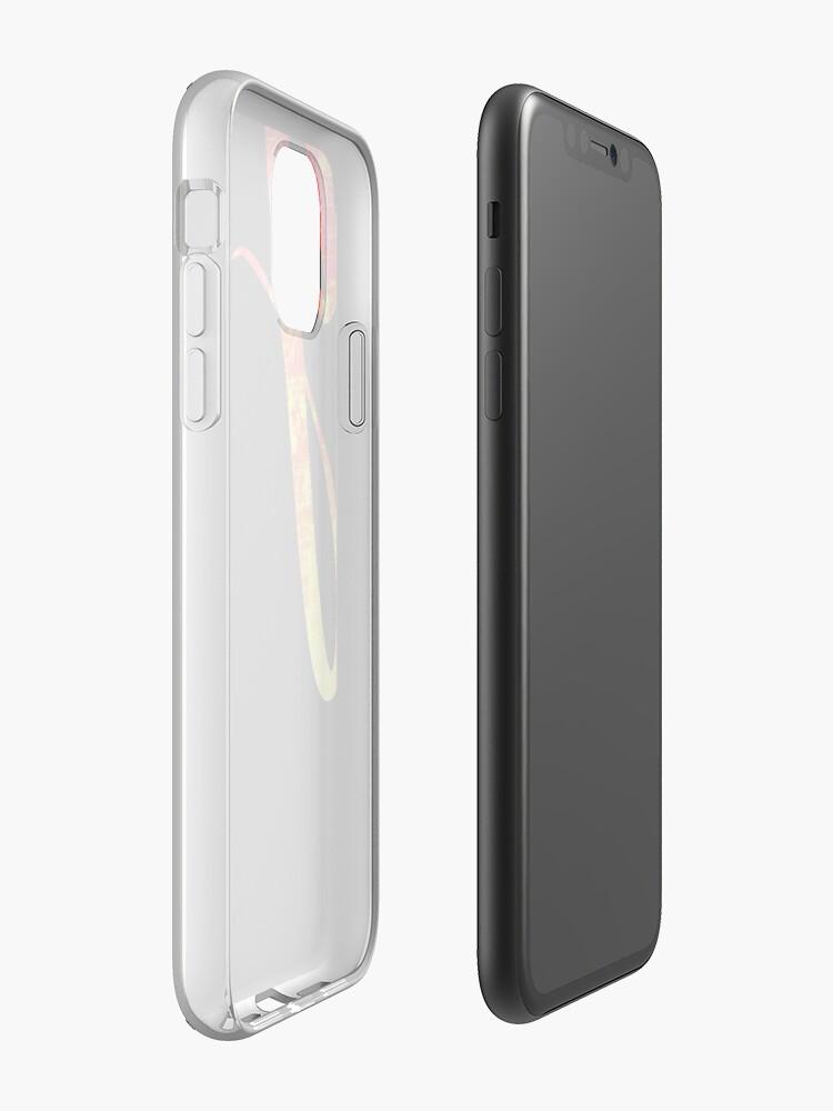 Coque iPhone «Typographie esthétique», par warddt